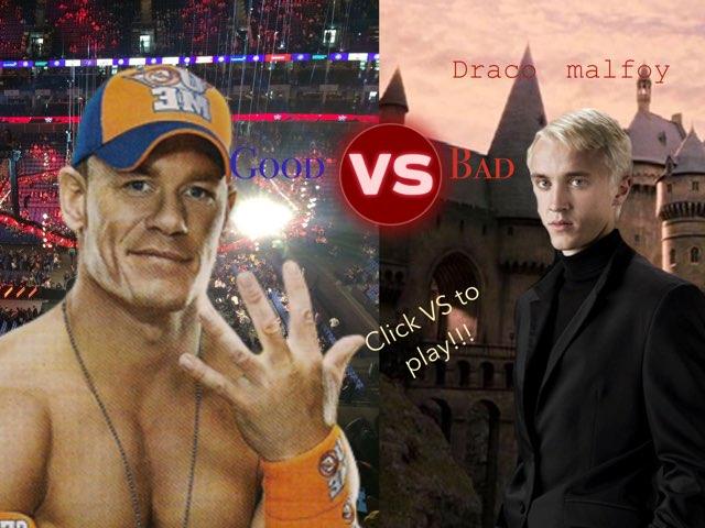 John Cena VS Draco Malfoy by Jack Fletcher