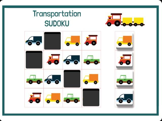 Transportation Sudoku by Hadi  Oyna