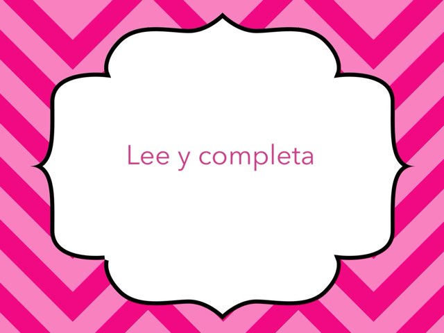 Lee y Completa by Toñi Arteaga Lucas