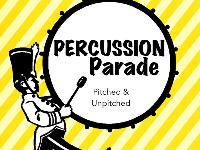 Percussion parade by A. DePasquale
