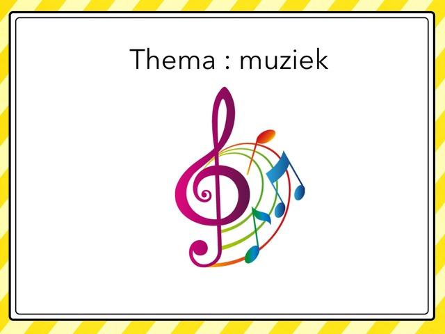 Thema : Muziek by Lien Swinnen