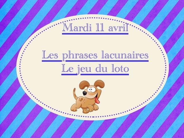 A - Mar11 - Phrases Et Loto  by Caroline Gozdek
