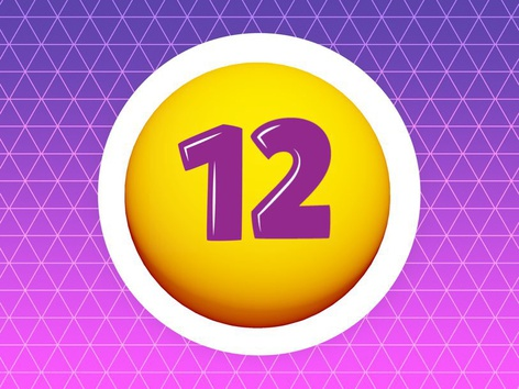 Number 12 by Ghadeer