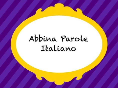 Abbina Parole by Monica Failla