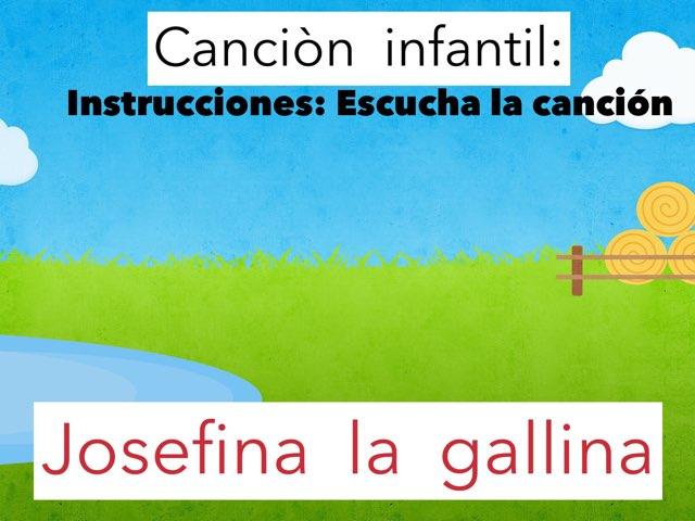 Spanish Concept of Word: Josefina la gallina by Rosalva Correa