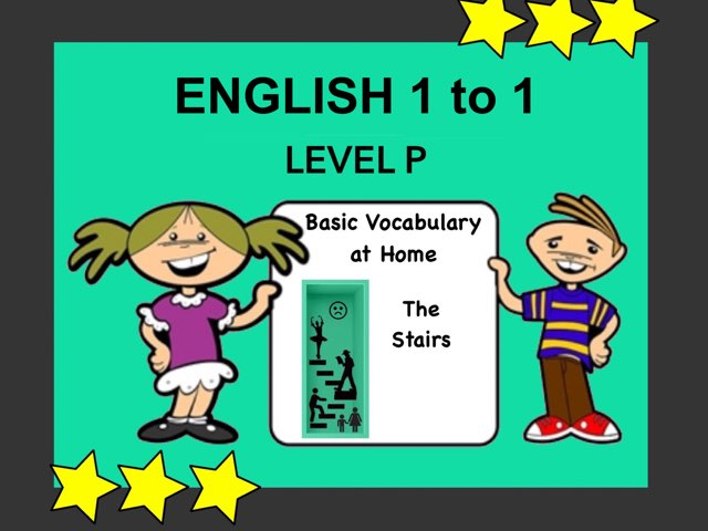 English 1to1 P Stairs by Ellen Weber