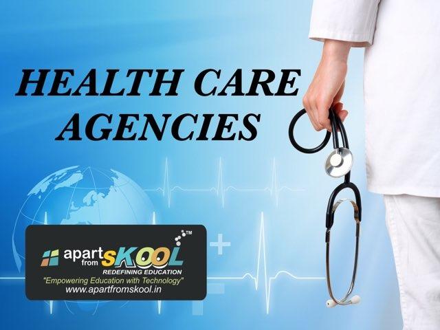 Health Care Agencies by TinyTap creator