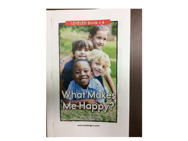 What Makes Me Happy? by Justin Heid