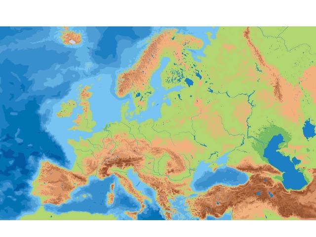 Sistemas Montañosos De Europa by Blanca Lopez Cediel