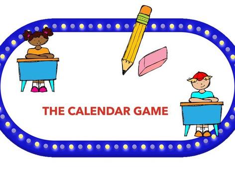 Calendar game by Claudia Sawada