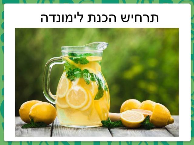 תרחיש הכנת לימונדה by ניבין אלבאש