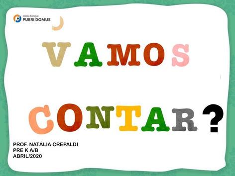 VAMOS CONTAR? by Natalia Crepaldi Generali