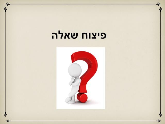פיצוח שאלה by Shiran Tuvia