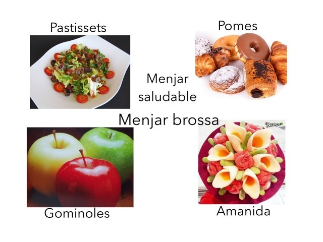 Aliments Saludables I Aliments No Saludables by Laura Pedrero Vela