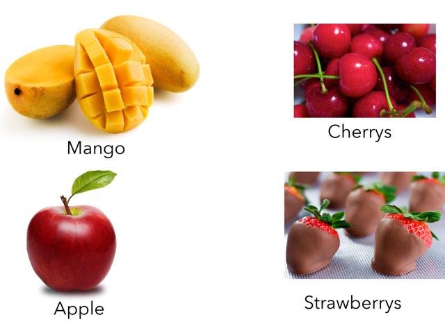 Fruit Game by Jaleh Kan