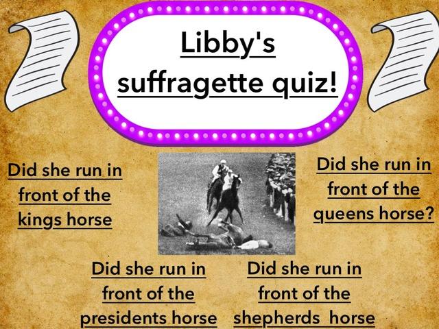 Libby's Quiz by Childer Thornton