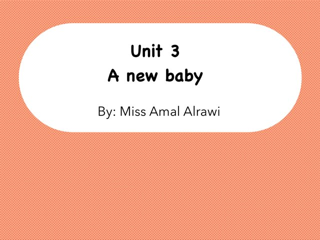 Unit 3  by Amal kuwait