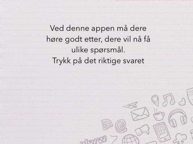 Grammatikk - Ask A Question by Maren Grøtan