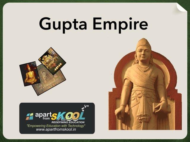 Gupta Empire  by TinyTap creator