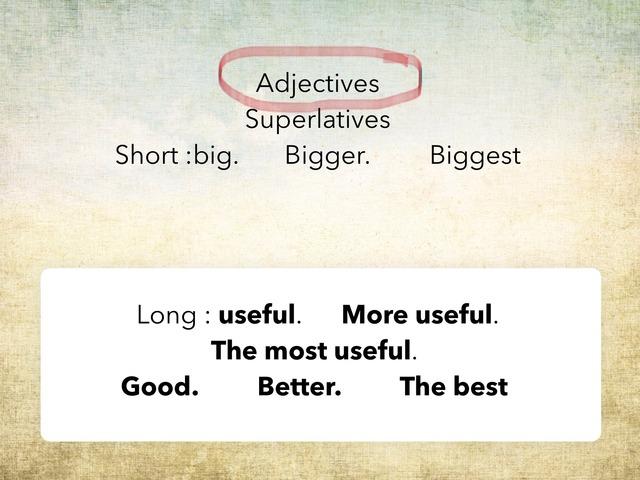 Adjectives by Akram Asad