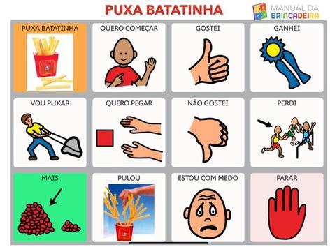 PUXA BATATINHA PRANCHA - Manual da Brincadeira  by MIRYAM PELOSI
