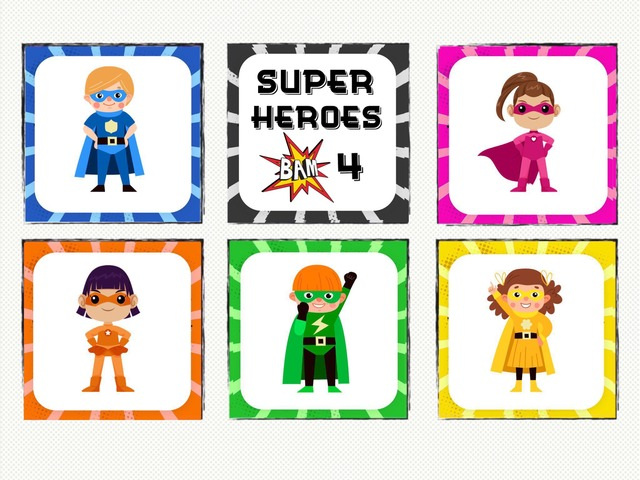 Super Heroes 4 - Puzzle Fun by Cici Lampe
