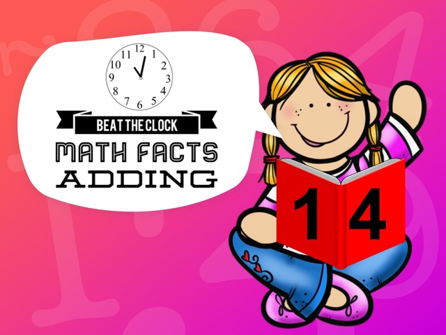 Beat The Clock - Adding To 14 by Ellen Weber