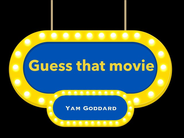 Movie Trivia by Yam Goddard