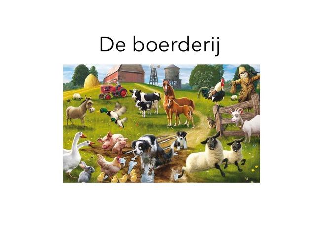 De Boerderij by Stefanie