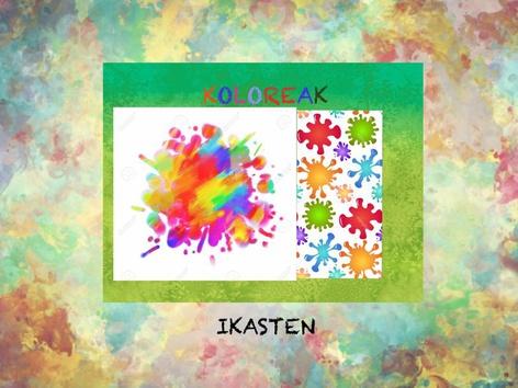 KOLOREAK Ikasten by Ana José Escalada Palacios