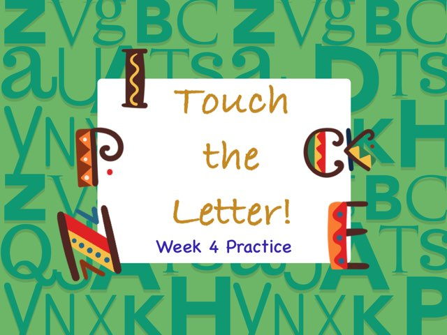 Touch The Letter Phonics 2 by Tony Bacon
