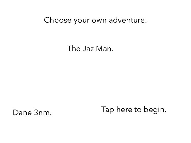 The Jazz Man. by 3NM iPad