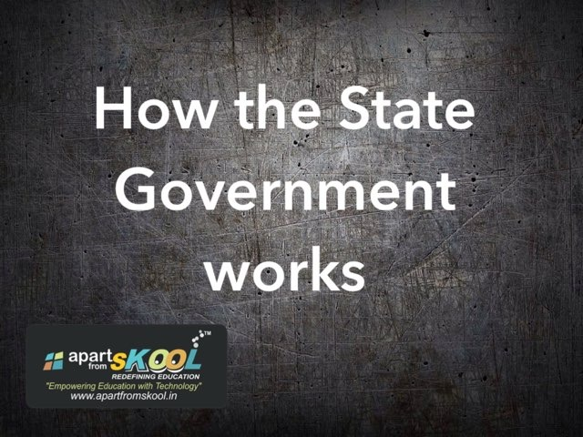 How The State Government Works by TinyTap creator