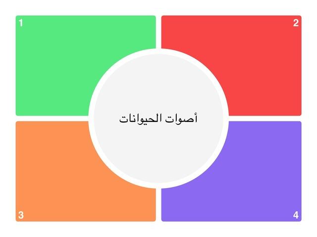 أصوات الحيوانات by معاذ العنزي