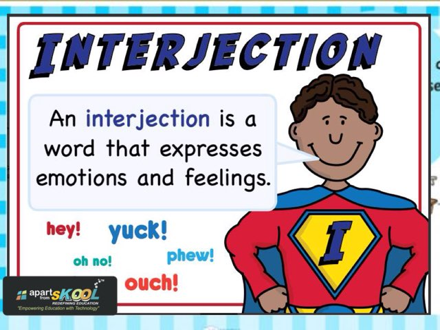 Interjection  by TinyTap creator