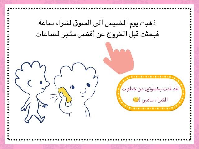 خطوات العمليه الشرائية و الاستهلاك by Ohoud Alharbi