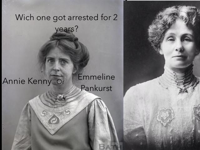 Jacobs Suffragette by Childer Thornton