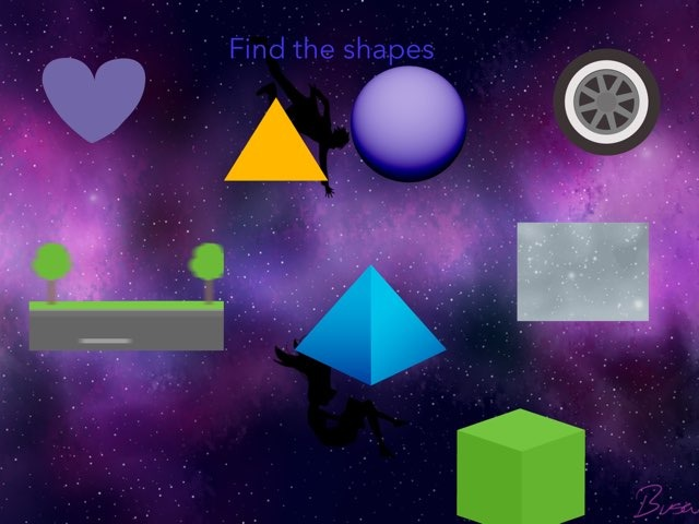 Find The Shapes by Mr Edmondson