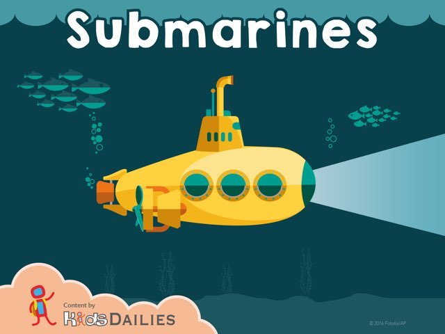 Submarines by Kids Dailies