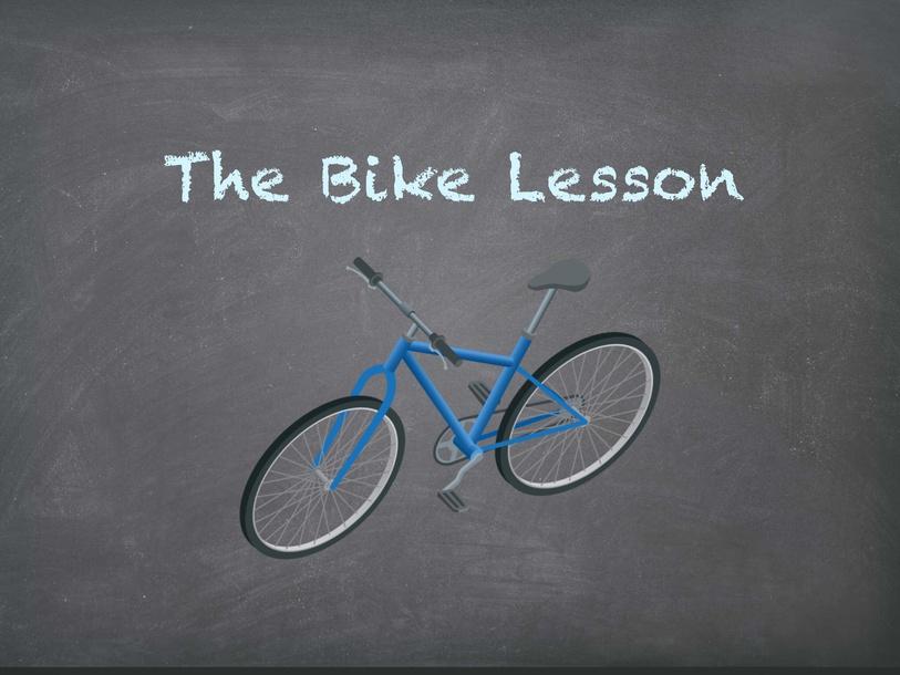 The Bike Lesson by Siti Fatimah