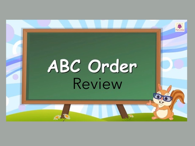 ABC Order: Review #1 by Carol Smith