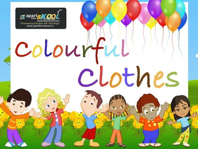 Colourful Clothes by TinyTap creator