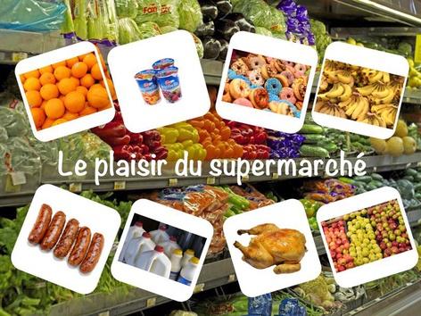 Le plaisir du supermarché by Catherine Davies