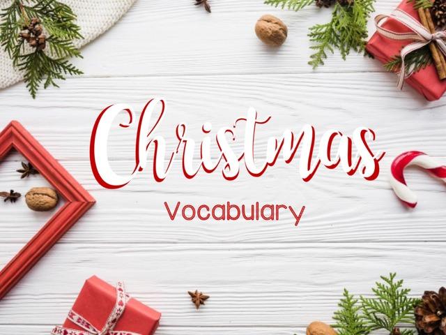 Christmas Vocabulary by Lau Pech