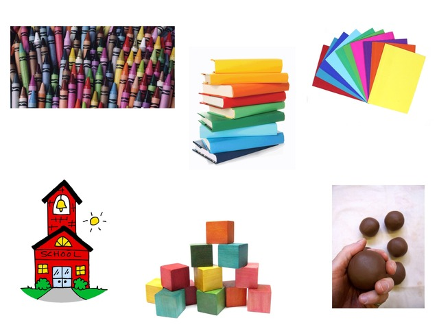 PF School Supplies Spanish by Elizabeth Gray