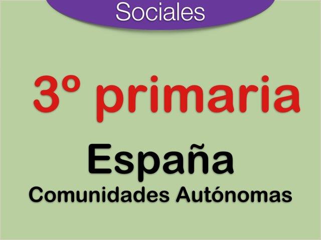 España . Comunidades Autónomas  by Elysia Edu