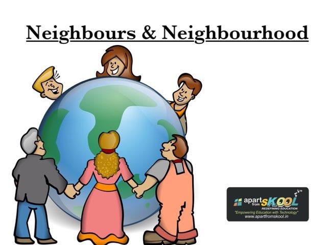 Neighbours & Neighbourhood by TinyTap creator