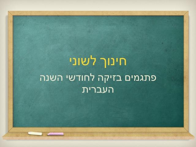 חינוך לשוני 3 by Shani Lahav