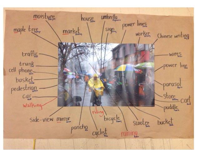 Raining Spelling assessment 1 by Russell Munkler