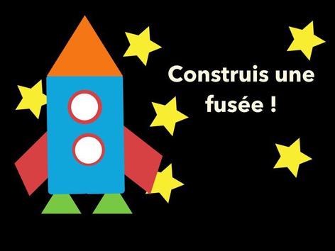 Construis une fusée! by Nancy McCall